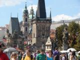 The stunning Charles Bridge – an obligatory stop